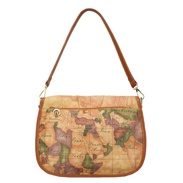 High quality world map women bag fashion women messenger bags brand design handbag special bag casual school bags Satchels