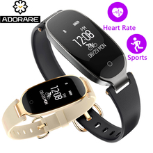 ADORARE S3 Bluetooth Smart Watch Women Smart Bracelet Band Heart Rate Monitor Fitness Tracker Smartwatch Clock For Android IOS