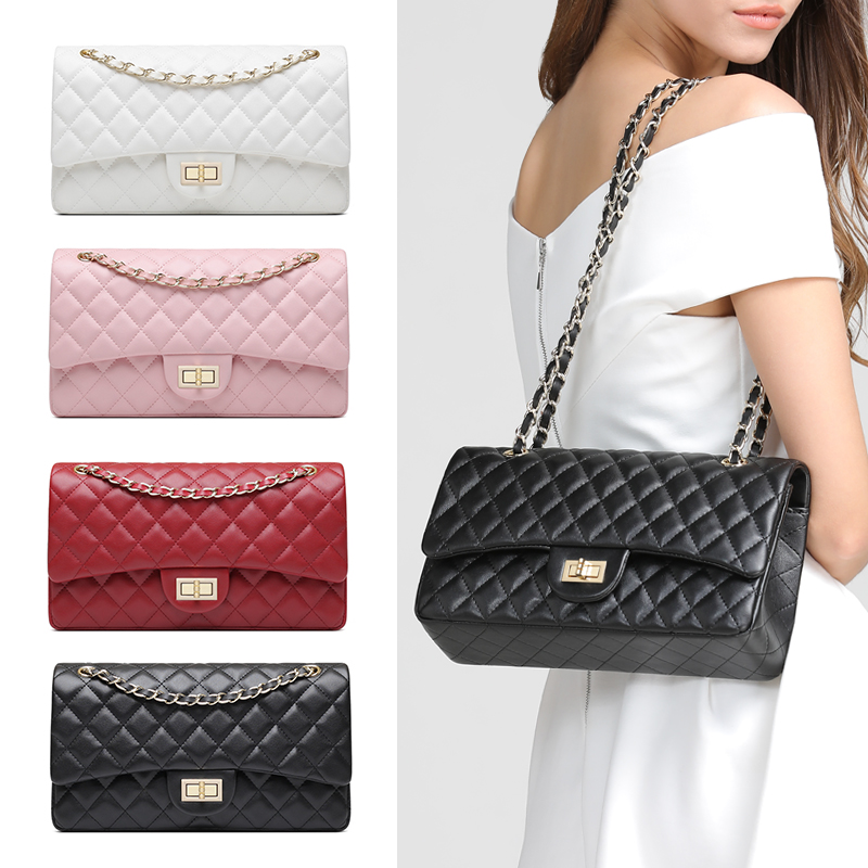 Female Leather handbag Luxury Chain Strap women Crossbody Bags Casual Ladies Messenger High Quality Shoulder Bag Lattice Bags easy carry three stages ceramic carbide diamond knife sharpener pocket outdoor edc tool fish hook professional sharpening stone