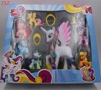 Beautiful BOX Collection Model Toys For Children Anime Cartoon Funko POP Lovely Rainbow Horse Princess Luna