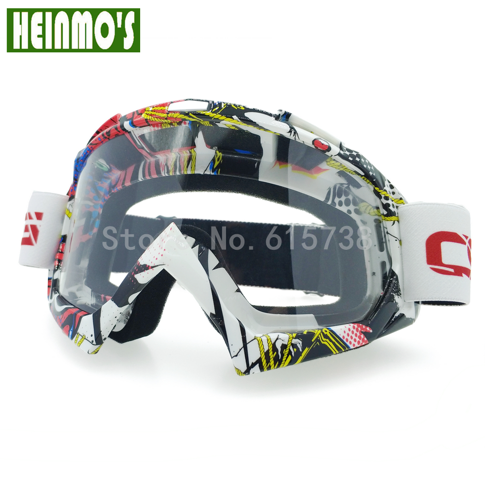 Óculos de motocross óculos de proteção snowboard homens ao ar livre gafas casco moto à prova de vento para o capacete de corrida de esqui motocicleta goggle
