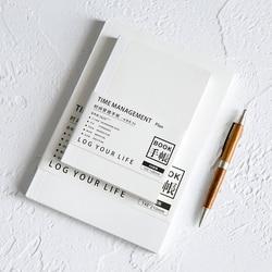 A5 New Hobonichi Refill Notebook Planner School Notebook Planner Daily Weekly Planner Journal Diary Bullet Journal Defter HJW066