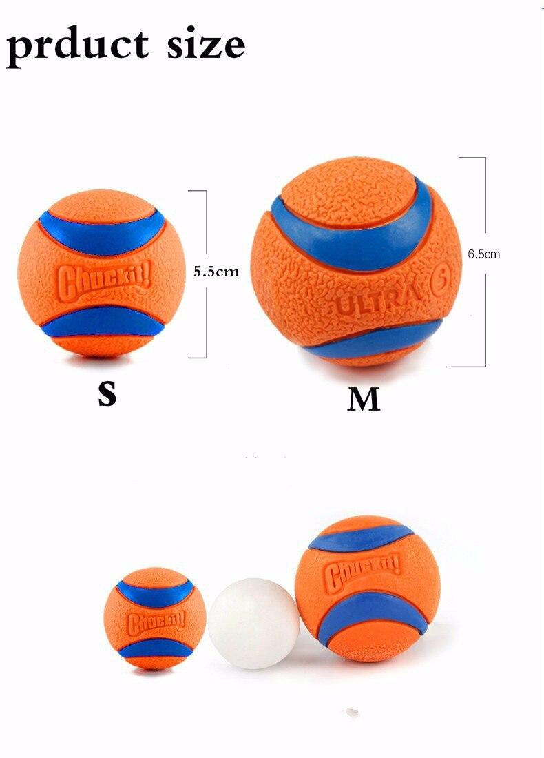 HOOPET Pet Dog Rubber Resistence Pinball Balls