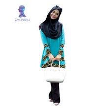 New Arrival womens moslim jurken for fashion kaftan islamic abaya dress in dubai for women turkish maxi splice muslim clothing