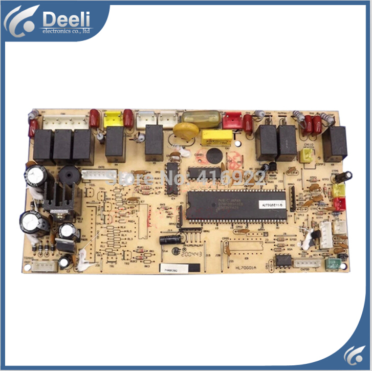 95% new good working for air conditioning circuit board HL73Q73G01F computer board good working on sale цены онлайн