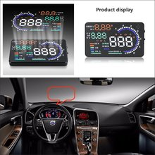 Car HUD Head Up Display For Volvo S60 S80 S90 2015 2016 Refkecting Windshield Screen Safe Driving Screen Projector