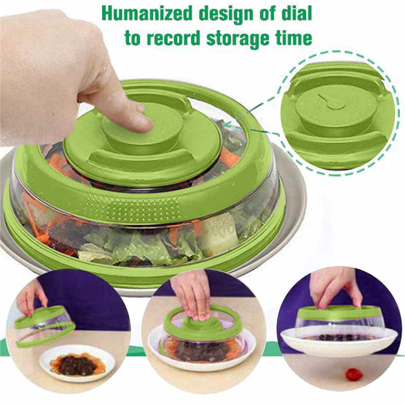 Airtight Vacuum Food Sealer Mintiml Cover Kitchen Instant Vacuum Food Sealer Fresh Cover vacuum food sealing machine ^