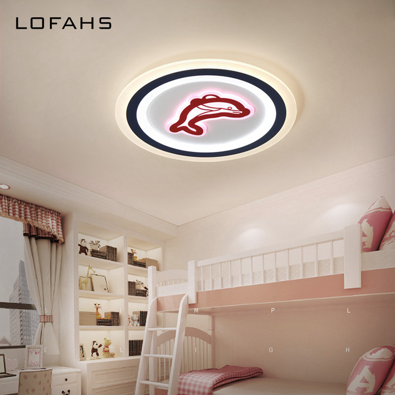 LOFAHS Modern LED ceiling lights for Child's room boy girl bedroom living room study high brightness LED ceiling lamp fixtures black or white rectangle living room bedroom modern led ceiling lights white color square rings study room ceiling lamp fixtures