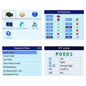 Image 3 - Autel oryginalny OBD2 narzędzie diagnostyczne do samochodów skaner samochodowy AL519 OBD 2 EOBD kod błędu czytnik urządzenia do skanowania Escaner Automotriz