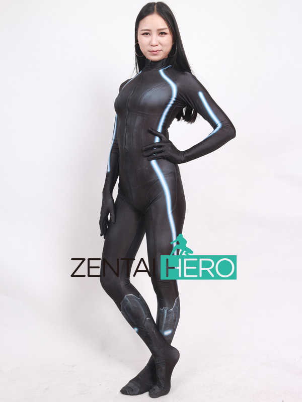 ZentaiHero 2017 Black Widow Costume 3D Printed Female Superhero Costume Newest Game Cosplay Costume Zentai Catsuit For Halloween (1)