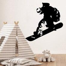 Removable Skate Wall Decals Home Decor Living Room Children Room Vinyl Art Decals цена
