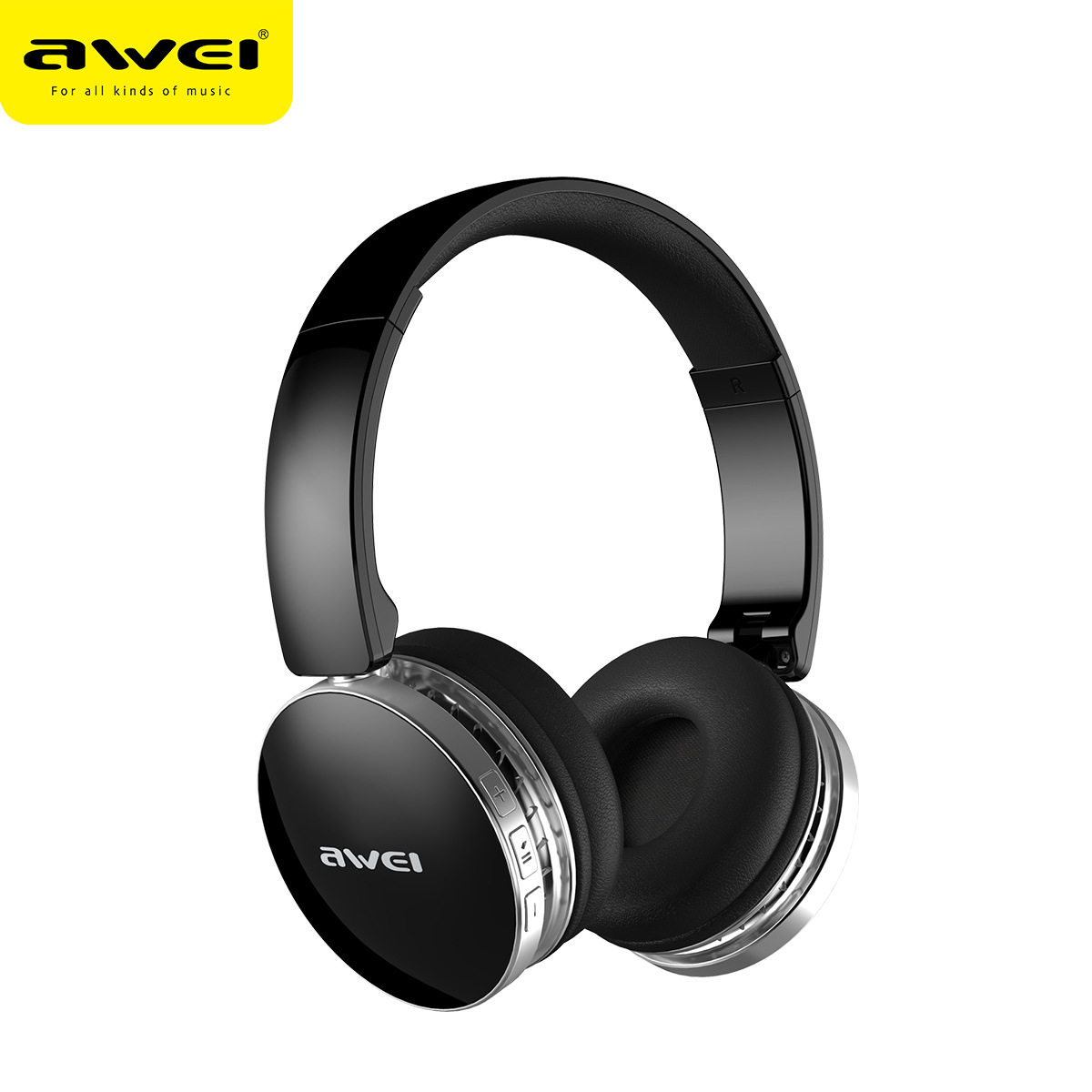 AWEI A500BL 2 in 1 Foldable Wired/ Wireless Bluetooth Headphone Stereo Sport Headphone Headset with Microphone headphone bluetooth wireless foldable sport handsfree headset with microphone fm radio mp3 player tf card wired stereo earphone