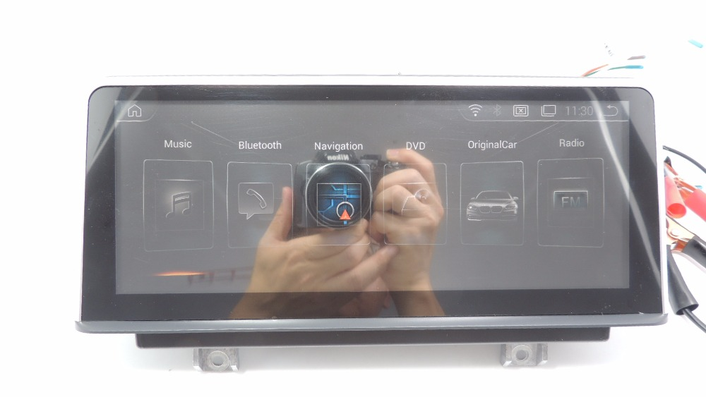"""""""yokotron"""" 10.25""""touch Android 8.1 Car Radio Palyer For Bmw 1 Series F20/f21 2012-2016+gps Left Hand Drive Only Modern Techniques"""