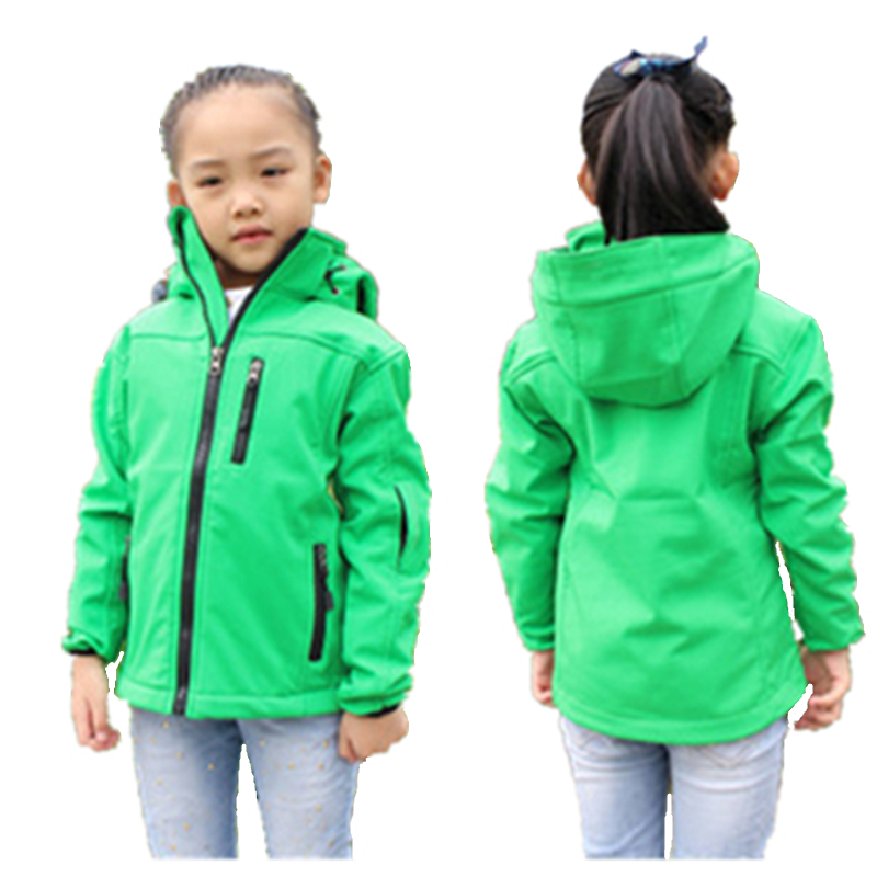 WENDYWU Kids Softshell Toddler Boy Jacket Coat Clothes ...