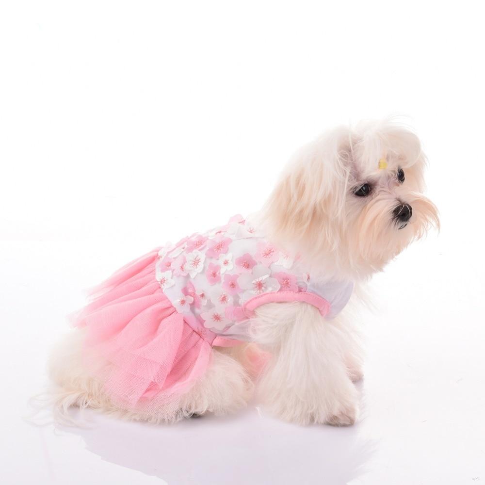 Peach blossom szoknya, pamut keverék anyag, alkalmi pártokhoz, - Pet termékek
