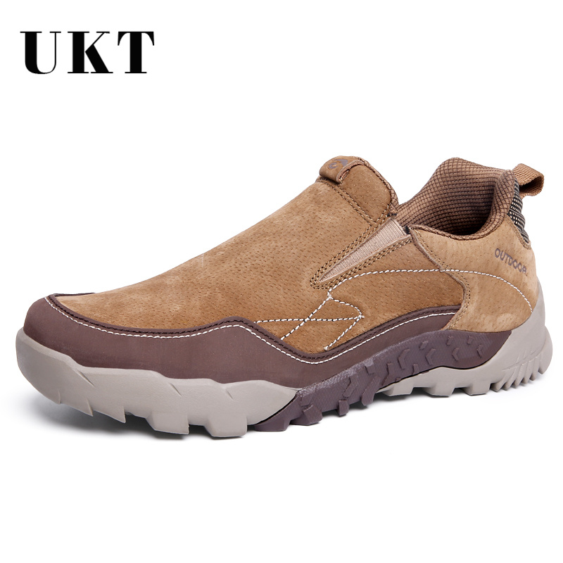 New Classic Luxury Fashion Men's Shoes High Quality Winter Genuine Leather Brand Casual Shoes Men Slip-on Outdoor Black Trainers