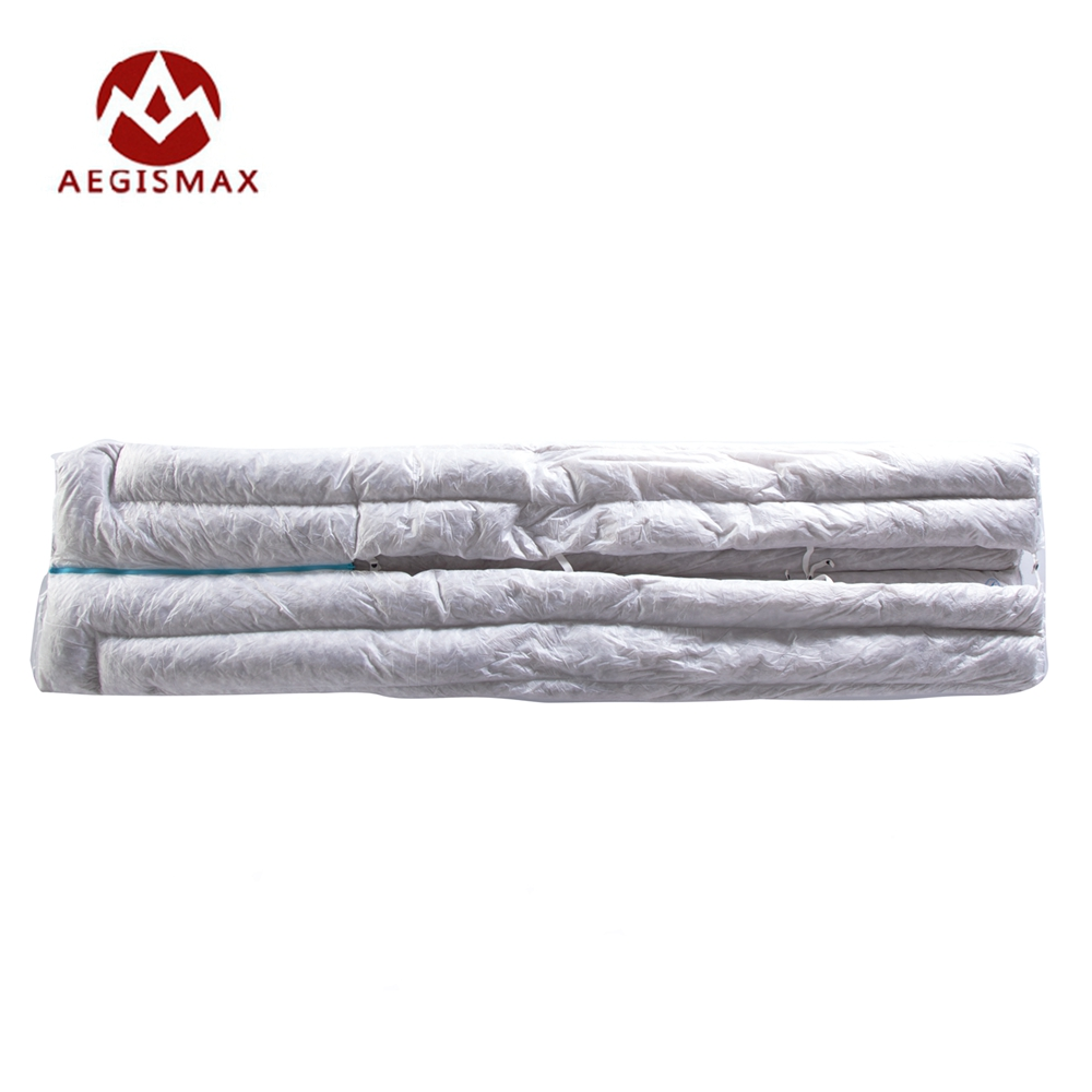 Aegismax Ultralight Envelope Sleeping Bag 850FP 95% Gray Goose Down 290g Camping Hiking Outdoor Sleeping Bags Winter Clothes