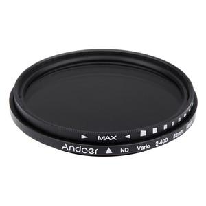 Image 3 - Andoer 52mm ND Filter Fader Neutral Density Einstellbare ND2 zu ND400 Variable Filter für Canon Nikon DSLR Kamera