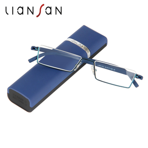 LianSan Fashion Vintage Retro Half-rim TR Reading Glasses Women Men Lightweight Original Brand Presbyopia Hyperopia L3801
