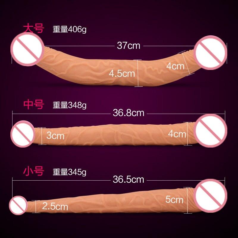 M: length 36.8cm, maximum diameter 4cm, minimum diameter 3cm, weight 348g.  L: length 37cm, maximum diameter 4.5cm, minimum diameter 4cm, weight 406g.