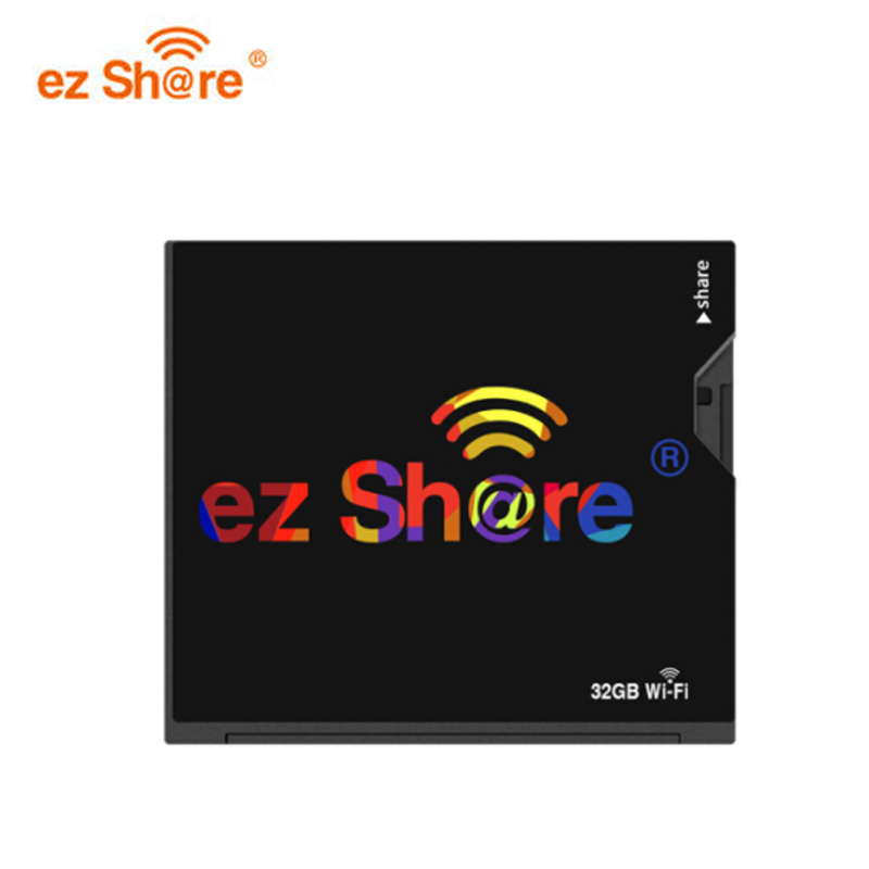 Ez share wifi cf memory Card 64G Compact Flash card 32gb for DLSR Camera wireless 7D highspeed 5D2 CF memory card with WIFI