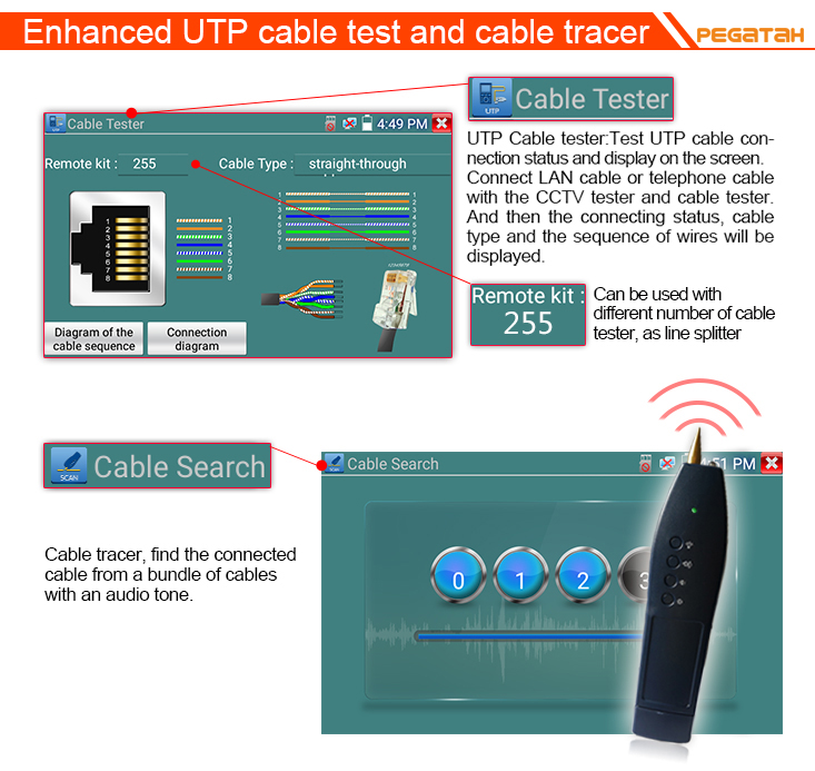 UTP and Cable Tracer