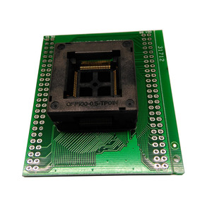 Image 3 - TQFP100 FQFP100 QFP100เพื่อDIP100ซ็อกเก็ตการเขียนโปรแกรมOTQ 100 0.5 09สนาม0.5มิลลิเมตรICร่างกายขนาด14x14มิลลิเมตรทดสอบซ็อกเก็ต