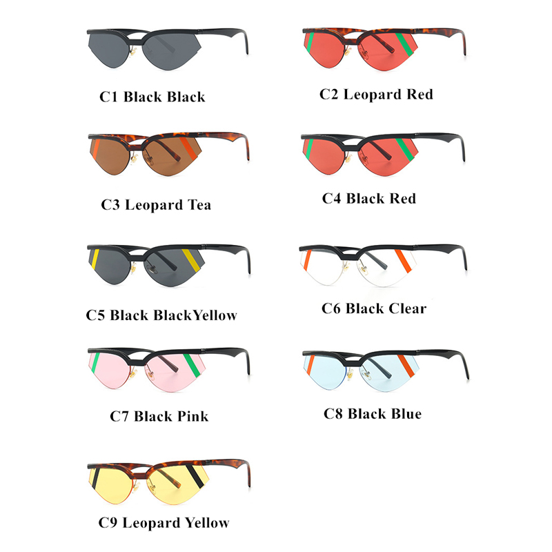 Cute Sexy Ladies Small Cat Eye Sunglasses Women Trendy Brand 2019 Plastic Frame Vintage Sun Glasses for Female UV400 Shades in Women 39 s Sunglasses from Apparel Accessories