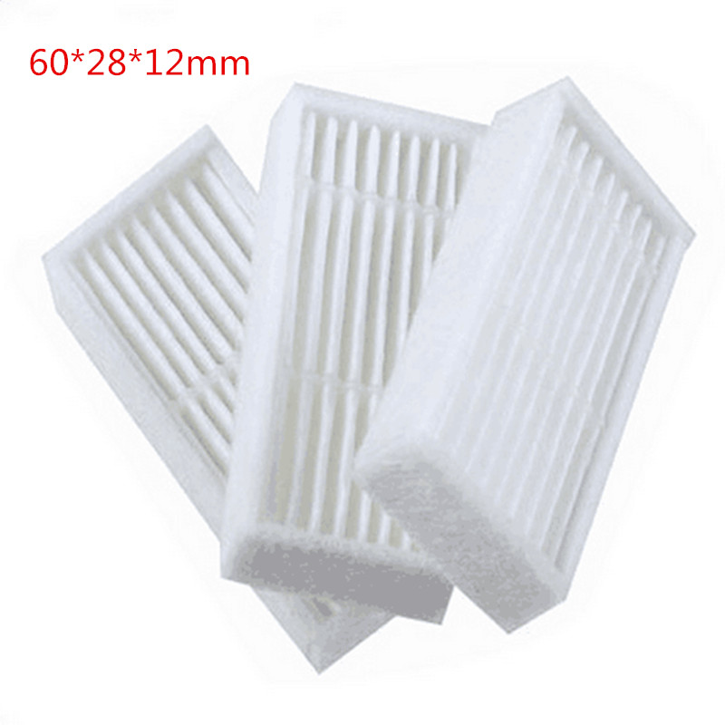 10pcs/lot Replacement 60*28*12mm HEPA Filter For X600 ZN605 ZN606 ZN609 Vacuum Cleaner HEPA Filter rtm875t 605 rtm875t 606