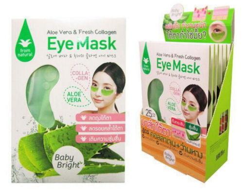Baby Bright Thailand Aloe Vera Fresh Collagen Eye Mask 6 Pairs