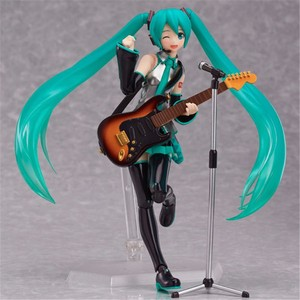 Anime Hatsune Miku Sexy Figure Figma 200 PVC Action Figure Collectible Model Kids Toys Doll 14CM(China)