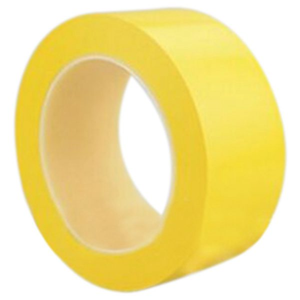 Self-Adhesive PVC Lane & Aisle Marking Floor Tape Safety Tape, 50mm*33m Yellow
