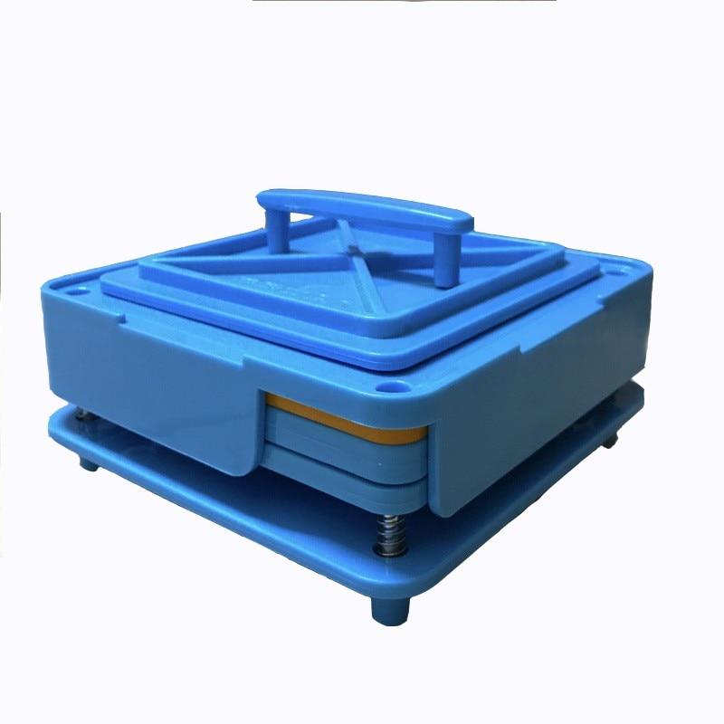100 Holes Manual Hand Capsule Filler Size 0#Empty Filling Machine Powder Spreader Capsule Filler Tool Box