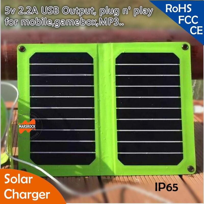a mais alta eficiencia de 11 w 5 v dobravel sunpower painel solar com saida usb