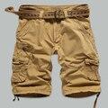 Summer New Casual Cotton Pantalones Cortos Hombre Deporte Loose Solid Color Culottes Courtes Hommes