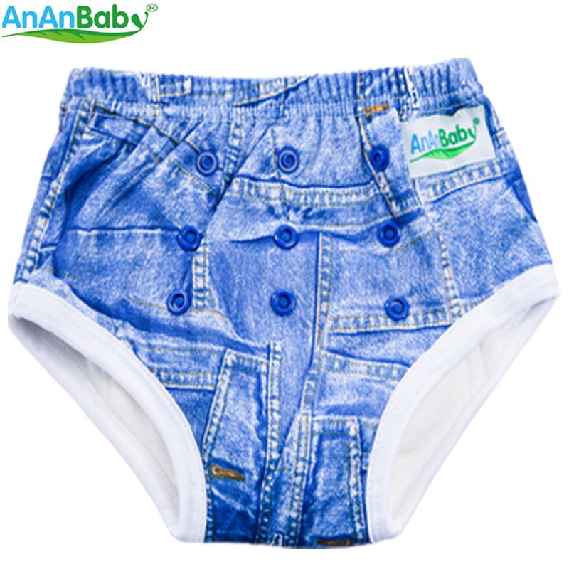 2016 New Waterproof Washable Baby Training Pants Trainers Bamboo Potty Baby Pants 1pcs PUL Fabric Fit 1-3 Years Baby bamboo forest printed waterproof fabric shower curtain