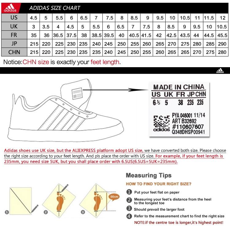 adidas Denmarimpulsarco Zapatos Talla chart Denmarimpulsarco adidas 717683