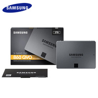 SAMSUNG SSD, 860 QVO 1 ТБ Внутренний твердотельный диск HDD жёсткий диск SATA3 2,5 дюймовый ноутбук Настольный ПК MLC внутренний жёсткий диск