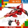 195 шт. Бела Ниндзя серия пожарные 10219 Строительный Блок enlighten bricks игрушки бесплатная доставка Совместимо С Lego