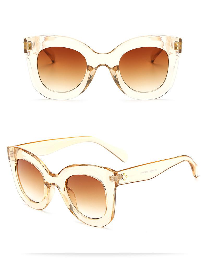 Luxury Vintage Cat Eye Sunglasses Women Brand Designer Female Sunglass Points Sun Glasses For Women Lady Sunglass Oculos De Sol (14)