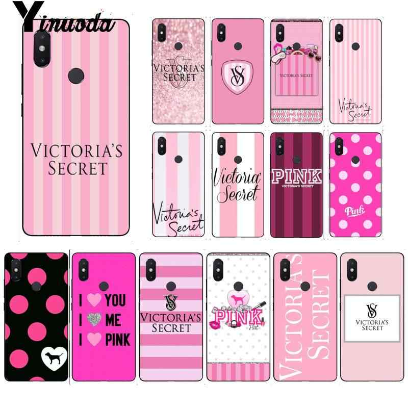 Yinuoda Victoria PINK LOVE PINK Coque Shell Phone Case for Xiaomi Mi 6 Mix2 Mix2S Note3 8 8lite Redmi 5 note5 Note4 4X