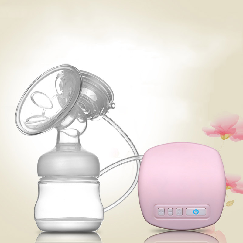 Electric Breast Pump Powerful Nipple Suction Silicon PP Massage Cushion Feeding Bottle Nipple BPA Free Postpartum Breast Feeding new manufacturer direct low price pink usb breast pump milk powerful nipple suction breast bottle feeding electric breast pumps