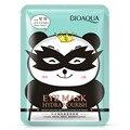 1 unids Marca BIOAQUA meticulosa Hidratante suave máscara de ojos negro Se Desvanecen Ojeras Ojo Bolsa Antiarrugas Hidratante Húmedo Máscara de los ojos