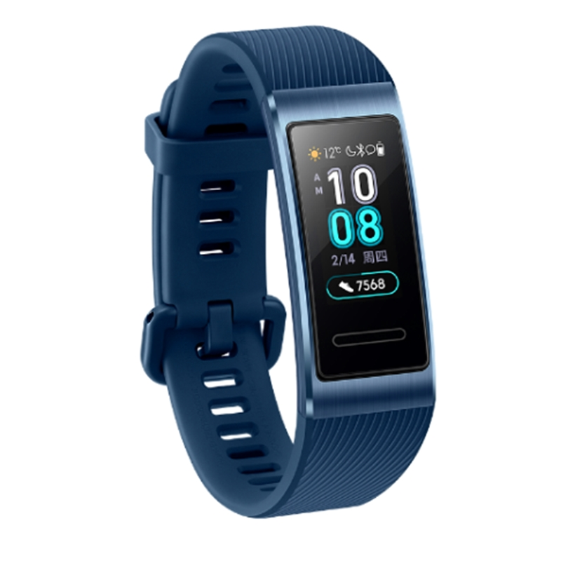 Image 3 - In Stock Original Huawei Band 3 / Pro Smartband Metal Frame Amoled Full Color Display Touchscreen Swim Heart Rate Sensor Sleep-in Smart Wristbands from Consumer Electronics