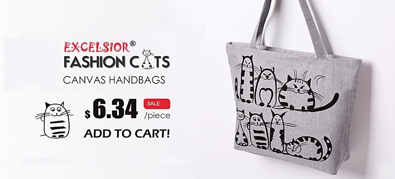 CARTOON CAT HANDBAGS2