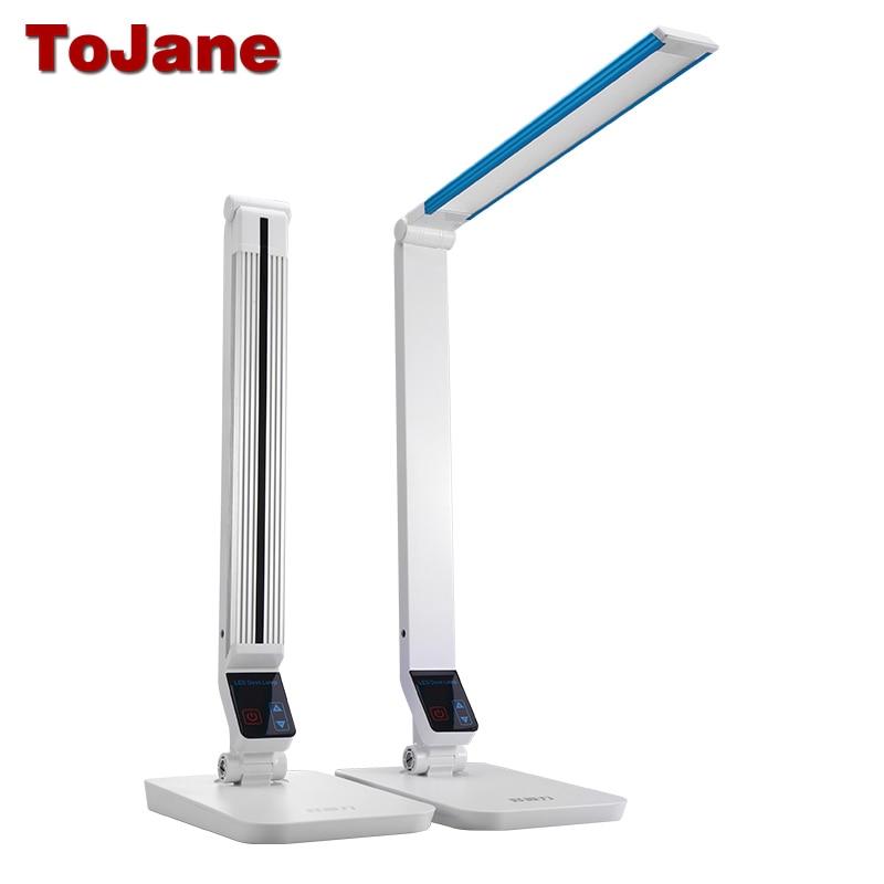 все цены на ToJane TG199S Desk Lamp 10W Led Reading Lamp Aluminum Alloy LED Table Lamps For Bedrooms Multitude Brightness Led Desk Lamp