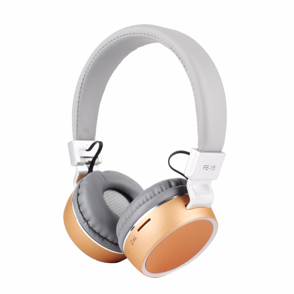 FE-15 Wireless Bluetooth Stereo Headphone Headset with Mic Handsfree Foldable For iPhone Smart Phones  #237251 bluetooth sunglasses sun glasses wireless bluetooth headset stereo headphone with mic handsfree for iphone samsung huawei xiaomi
