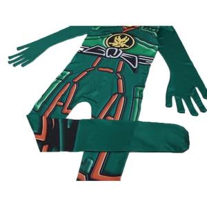 Image 5 - Groen Ninjago Kostuum Kids Jongens Jumpsuits Kinderen Halloween Kerst Kostuum Voor Kinderen Fancy Party Kleding Ninja Kostuum Suits