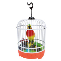 EFHH Kids Creative Pretty Cute Funny Singing Bird Toy Exquisite Sound Voice Control Activate Toy Gift