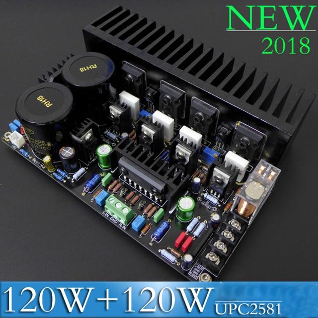 Irf9240 rf240240 efeito de campo transistor fet, simetrica, dupla diferença, hifi, febre, placa amplificadora 120w + 120w upc2581 circuito